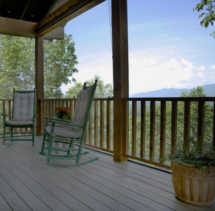 Home Renovation at Black Mountain Scenery