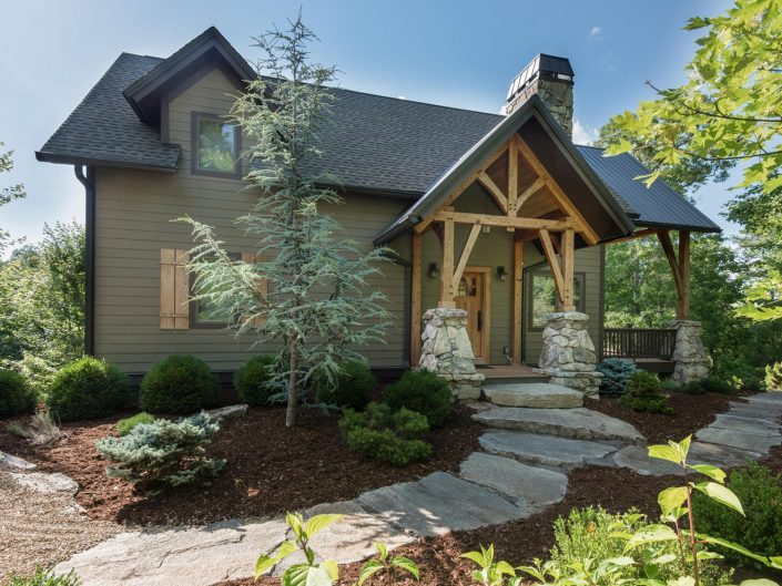 Custom Cabin Home at Post and Beam