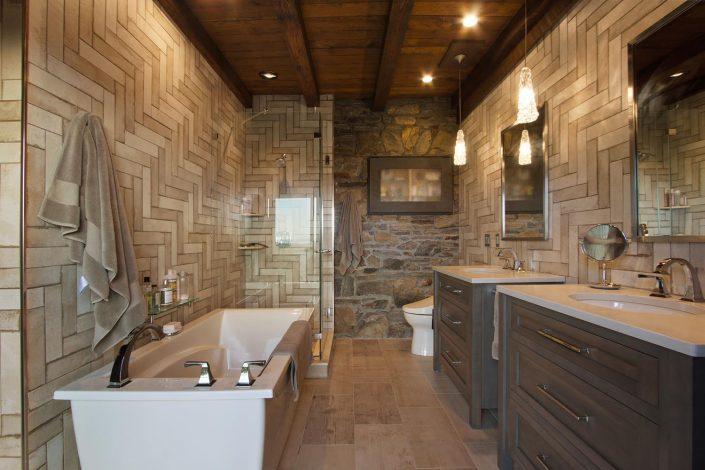 Custom Bathroom Renovation at Rockhold