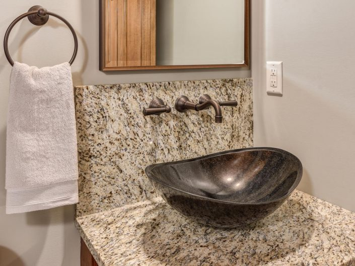 Custom Bathroom Sink at Warbler Crossing