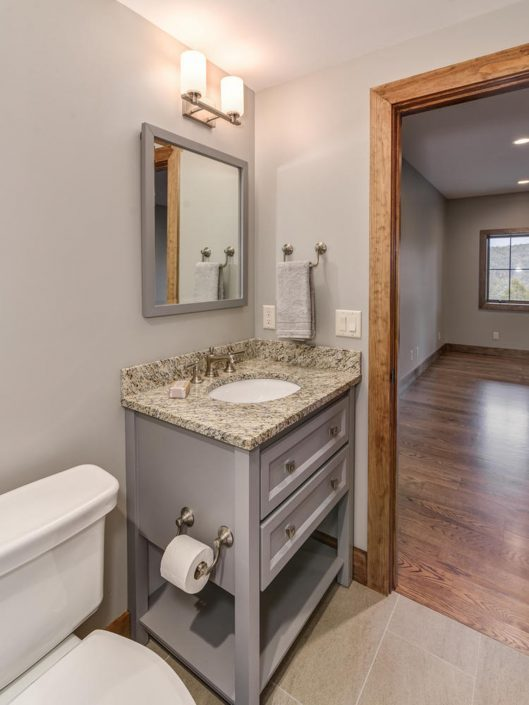 Guest Bathroom at Warbler Crossing