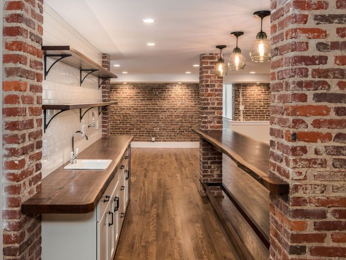 Basement Galley Kitchen Design at Windsor