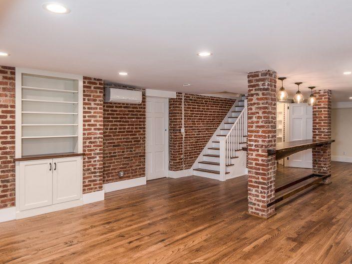 Basement Floor Renovation at Windsor