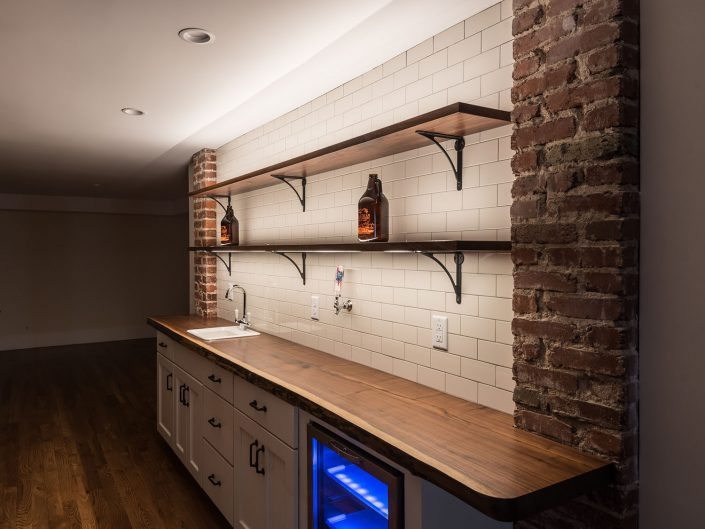 Basement Kitchen Design at Windsor