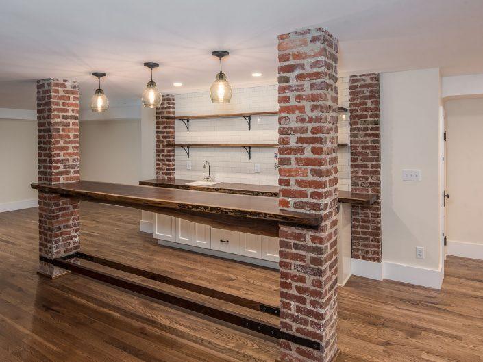 Basement Kitchen at Windsor