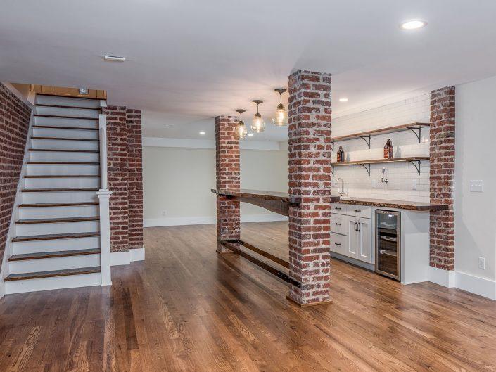 Basement Kitchen Renovation at Windsor